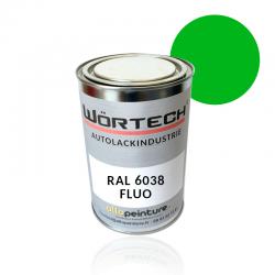 RAL 6038 Vert Brillant (Fluo)