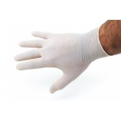 Gants Latex Blanc fin poudré
