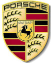 Logo marque voiture Porsche
