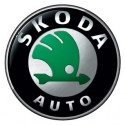 Logo marque voiture Skoda