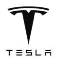 Logo marque voiture Tesla