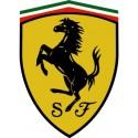 Logo marque voiture Ferrari